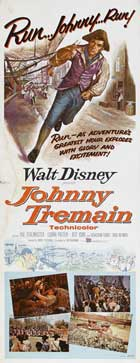 Johnny Tremain - 14 x 36 Movie Poster - Insert Style A