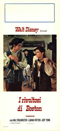 Johnny Tremain - 13 x 28 Movie Poster - Italian Style A