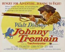 Johnny Tremain - 22 x 28 Movie Poster - Half Sheet Style A