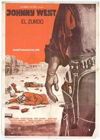 Johnny West - 11 x 17 Movie Poster - Spanish Style A