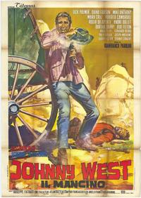Johnny West - 27 x 40 Movie Poster - Italian Style A