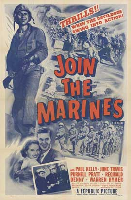 Join the Marines - 11 x 17 Movie Poster - Style A