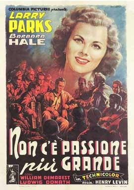 Jolson Sings Again - 27 x 40 Movie Poster - Italian Style A