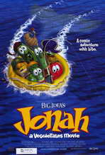 Jonah: A Veggie Tales Movie - 27 x 40 Movie Poster - Style A