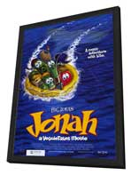 Jonah: A Veggie Tales Movie - 27 x 40 Movie Poster - Style A - in Deluxe Wood Frame
