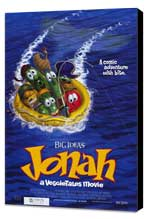 Jonah: A Veggie Tales Movie - 27 x 40 Movie Poster - Style A - Museum Wrapped Canvas