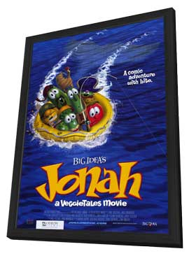 Jonah: A Veggie Tales Movie - 11 x 17 Movie Poster - Style A - in Deluxe Wood Frame