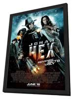 Jonah Hex - 27 x 40 Movie Poster - Style A - in Deluxe Wood Frame