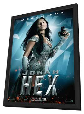Jonah Hex - 11 x 17 Movie Poster - Style D - in Deluxe Wood Frame