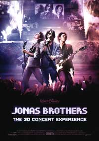 Jonas Brothers: The 3-D Concert Experience - 27 x 40 Movie Poster - Style A