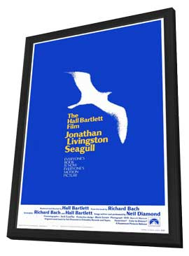 Jonathan Livingston Seagull - 27 x 40 Movie Poster - Style A - in Deluxe Wood Frame
