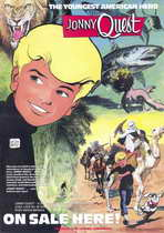 Jonny Quest (comic) - 11 x 17 Movie Poster - Style A