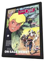 Jonny Quest (comic) - 11 x 17 Movie Poster - Style A - in Deluxe Wood Frame