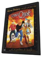 Jonny Quest - 11 x 17 Movie Poster - Style C - in Deluxe Wood Frame