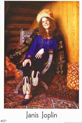 Janis Joplin - 11 x 17 Movie Poster - Style A