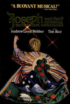 Joseph and the Amazing Technicolor Dreamcoat (Broadway) - 27 x 40 Movie Poster - Style A