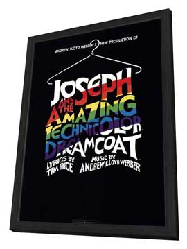 Joseph and the Amazing Technicolor Dreamcoat (Broadway) - 27 x 40 Poster - Style A - in Deluxe Wood Frame