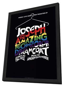 Joseph and the Amazing Technicolor Dreamcoat (Broadway) - 14 x 22 Poster - Style A - in Deluxe Wood Frame