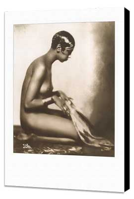 Josephine Baker - 11 x 17 Movie Poster - Style D - Museum Wrapped Canvas