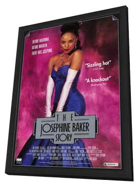 Josephine Baker Story - 11 x 17 Movie Poster - Style A - in Deluxe Wood Frame