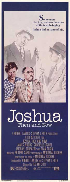 Joshua Then and Now - 14 x 36 Movie Poster - Insert Style A