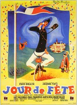 Jour de Fete - 11 x 17 Movie Poster - French Style B