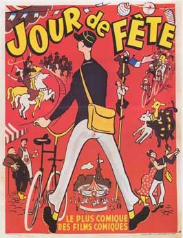Jour de Fete - 11 x 17 Movie Poster - French Style E