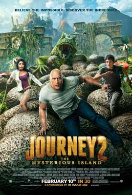 Journey 2: The Mysterious Island - 11 x 17 Movie Poster - Style A