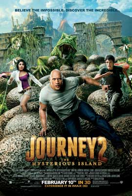 Journey 2: The Mysterious Island - 43 x 62 Movie Poster - Bus Shelter Style A