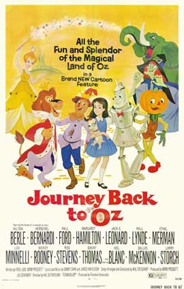 Journey Back to Oz - 11 x 17 Movie Poster - Style A