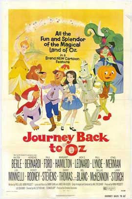 Journey Back to Oz - 27 x 40 Movie Poster - Style A