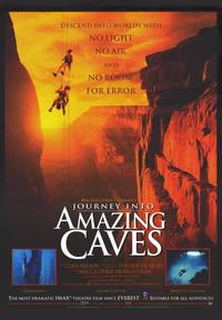 Journey Into Amazing Caves (IMAX) - 43 x 62 Movie Poster - Bus Shelter Style A