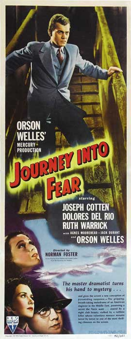 Journey into Fear - 14 x 36 Movie Poster - Insert Style A
