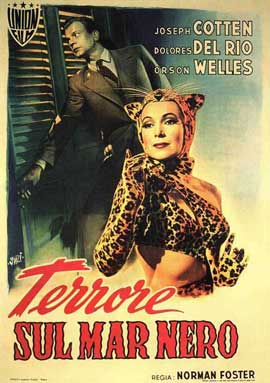 Journey into Fear - 11 x 17 Movie Poster - Italian Style A