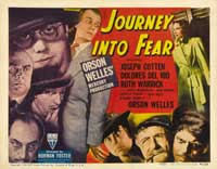 Journey into Fear - 22 x 28 Movie Poster - Half Sheet Style A