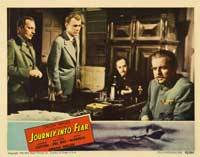 Journey into Fear - 22 x 28 Movie Poster - Half Sheet Style B