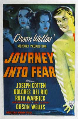 Journey into Fear - 27 x 40 Movie Poster - Style C
