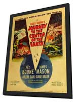 Journey to the Center of the Earth - 11 x 17 Movie Poster - Style C - in Deluxe Wood Frame
