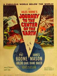 Journey to the Center of the Earth - 11 x 17 Movie Poster - Style C