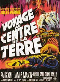 Journey to the Center of the Earth - 11 x 17 Movie Poster - French Style A