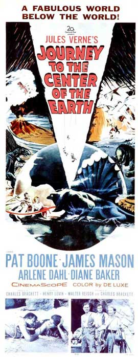 Journey to the Center of the Earth - 14 x 36 Movie Poster - Insert Style A