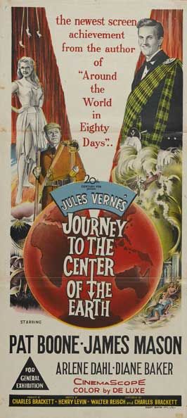 Journey to the Center of the Earth - 14 x 36 Movie Poster - Australian Style A