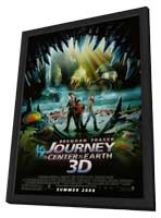 Journey to the Center of the Earth - 11 x 17 Movie Poster - Style A - in Deluxe Wood Frame