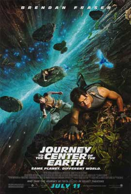Journey to the Center of the Earth - 11 x 17 Movie Poster - Style B