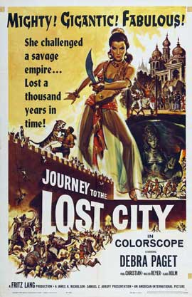 Journey to the Lost City - 11 x 17 Movie Poster - Style A