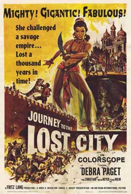 Journey to the Lost City - 27 x 40 Movie Poster - Style A