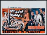 Journey to the Seventh Planet - 11 x 17 Movie Poster - Belgian Style A