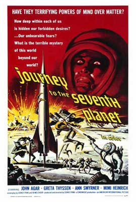 Journey to the Seventh Planet - 27 x 40 Movie Poster - Style A