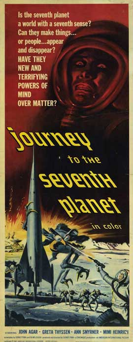 Journey to the Seventh Planet - 14 x 36 Movie Poster - Insert Style A
