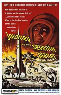Journey to the Seventh Planet - 43 x 62 Movie Poster - Bus Shelter Style A